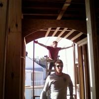 Bathroom - Barrel Ceiling