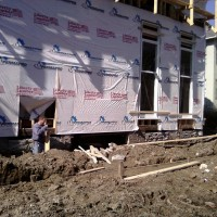 Side Porch Foundation