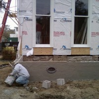 Front Porch Stucco