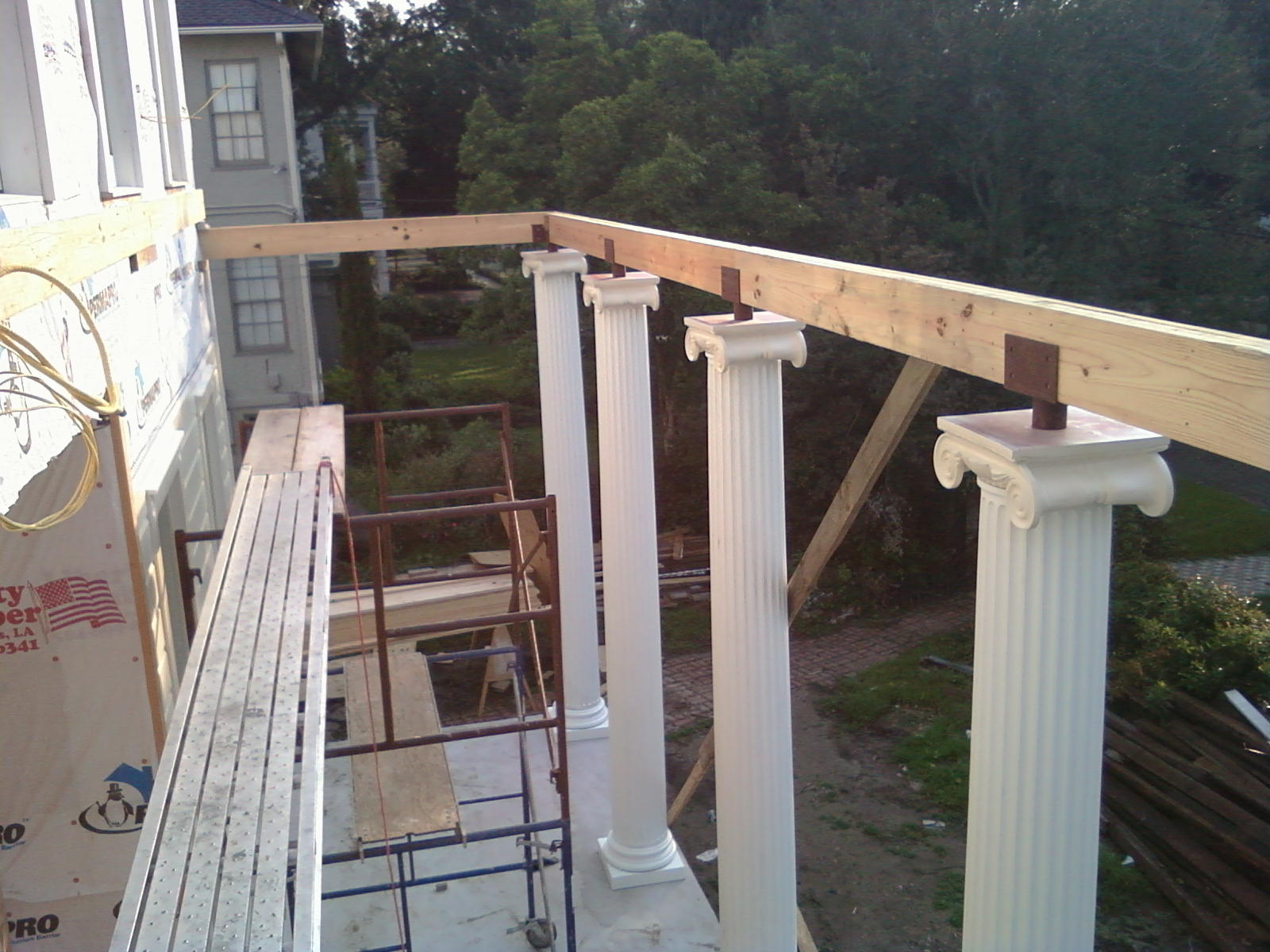 Front Porch Columns Decoto