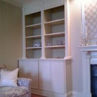 Living Room Bookshelves